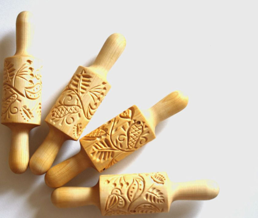 Carved Gingerbread Rolling Pins By Vera Bukreeva That Leave Unforgettable Impression