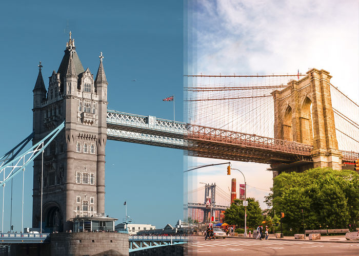 We Combined Our Travel Photos From Opposite Sides Of The World, And The Result Is Amazing
