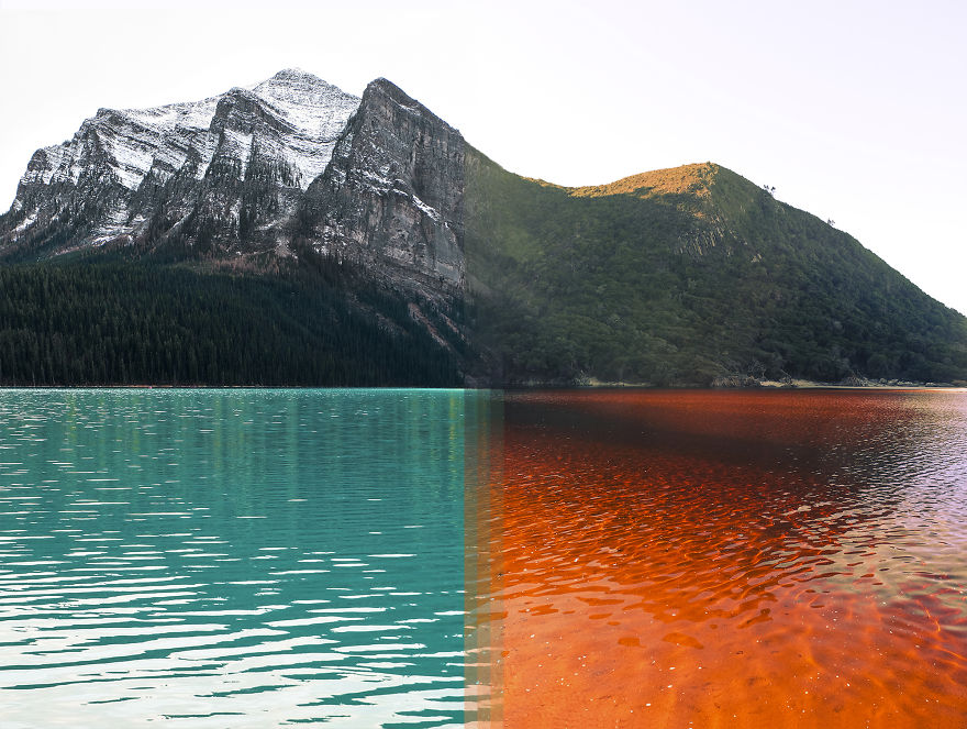 Banff National Park In Canada Vs Tsitsikamma National Park In South Africa