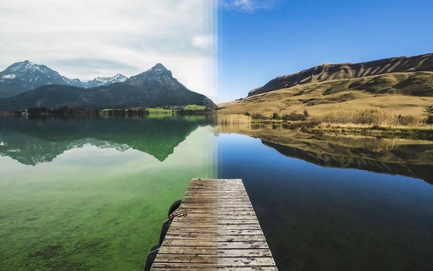 Альпы в Австрии против Дракенсберга в Южной Африке