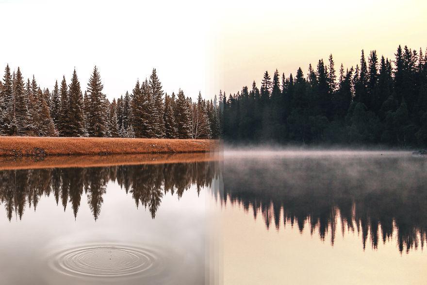 Alberta In Canada Vs Järpen In Sweden