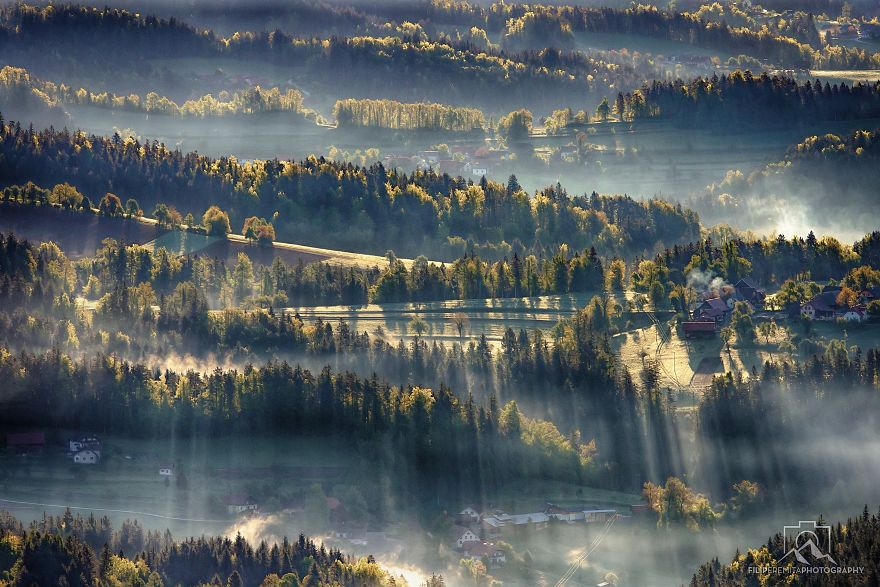 Chasing Sunrays In Upper-savinjska Valley, Slovenia Vol. 2