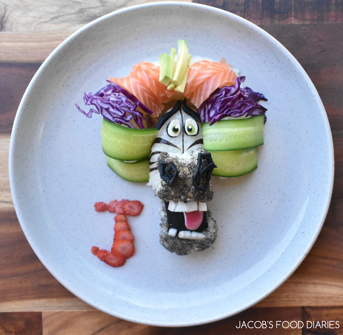 Circus Marty From Madagascar 3 – Sushi Donut