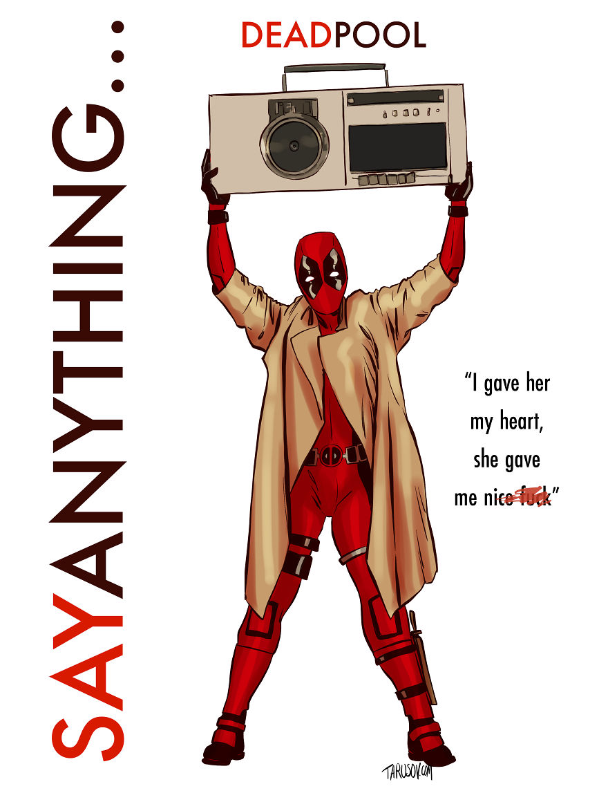 Deadpool, Say Anything...
