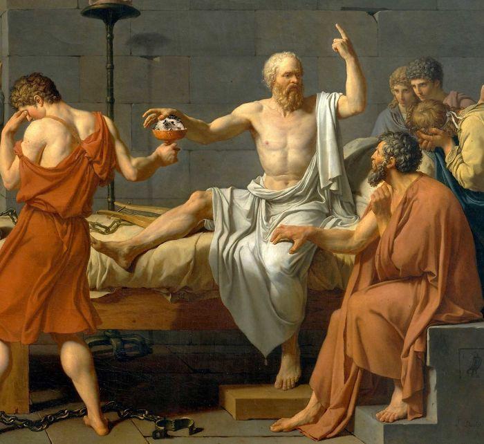 David's The Awkwardness Of Socrates