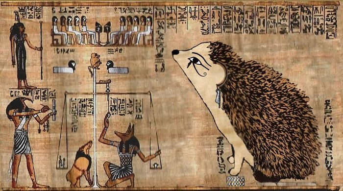 Recent Discovery Of An Ancient Papyrus Presents A Fascinating View Of What Scholars Believe Is A Hedgehog Goddess Judging The Souls Of The Deceased