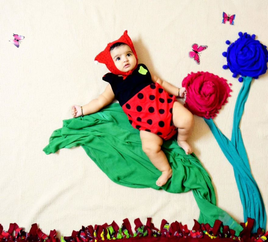 Mommy Creates Incredible Photography With Her Baby As Her Muse