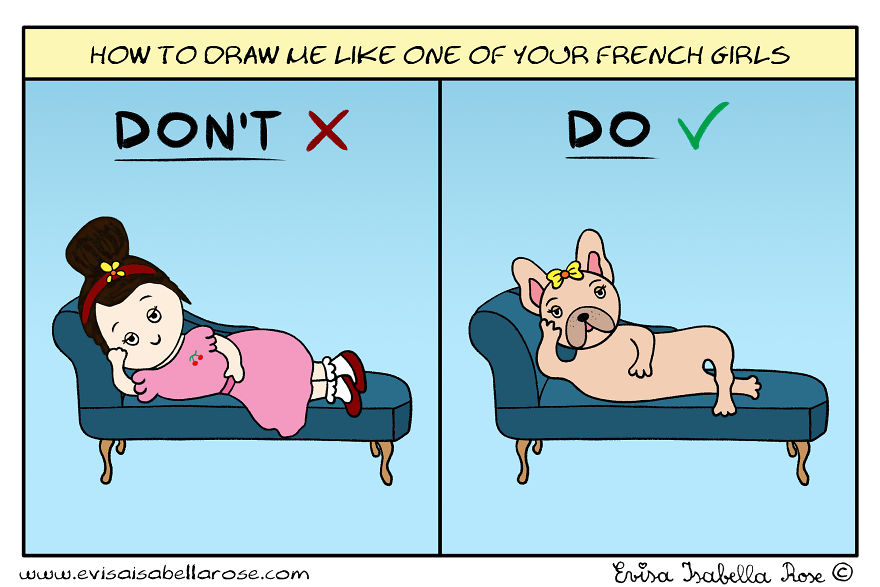 How To Draw Me Like One Of Your French Girls