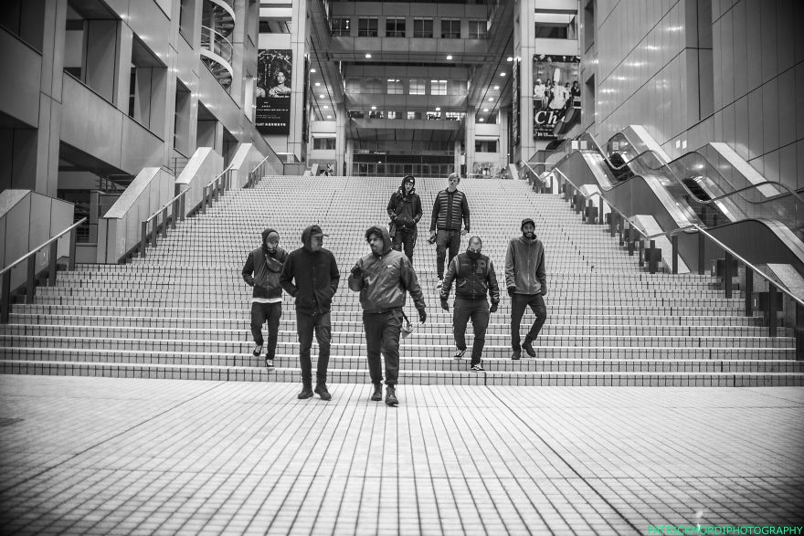 #18 The Crew In Tokyo Diver-city For More Check My Instagram : Ebu.mordi (photography) Patrickmordi (life And Photography)