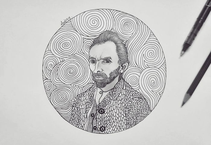 Van Gogh Self-Portrait, 1889