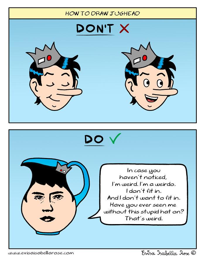 How To Draw Jughead