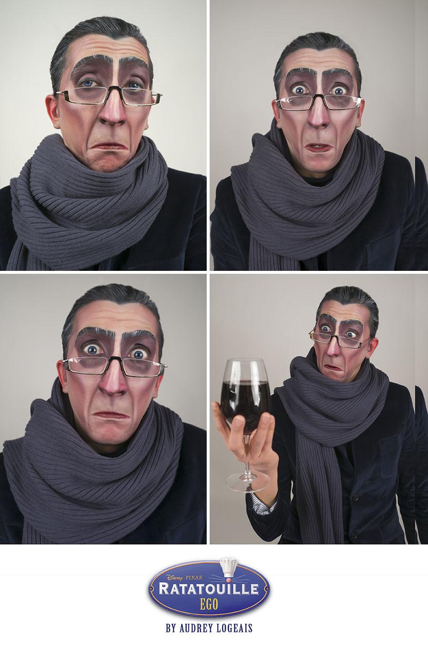 I Turn People Into Disney Villains Using Makeup