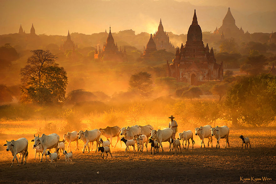 16 Extraordinary Images By Myanmar's Kyaw Kyaw Winn