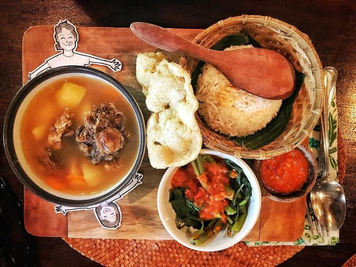 "Sunday Calls For Delicious Meal! How 'bout ""sop Buntut"" Or Oxtail Soup?"