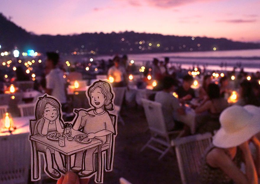 Candlelight Dinner By The Jimbaran Beach