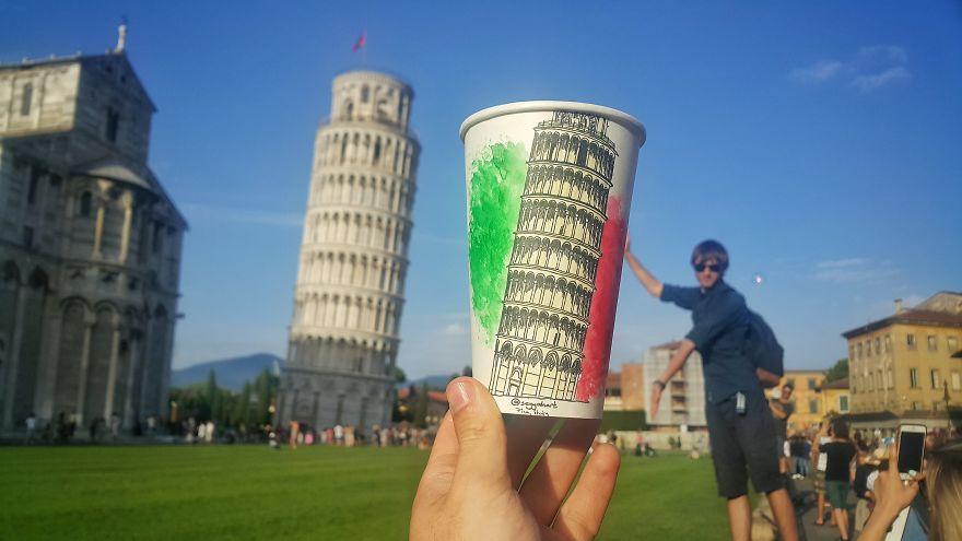 Pisa, Leaning Tower Of Pisa
