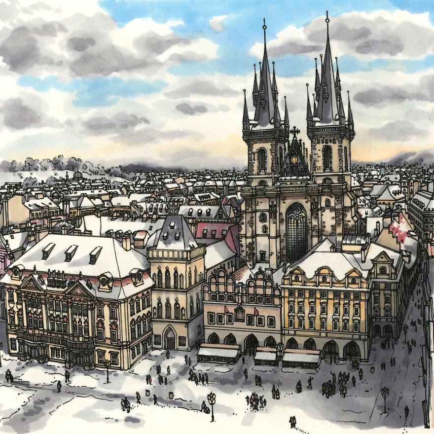 Prague, Old Town Square (Czech Republic)