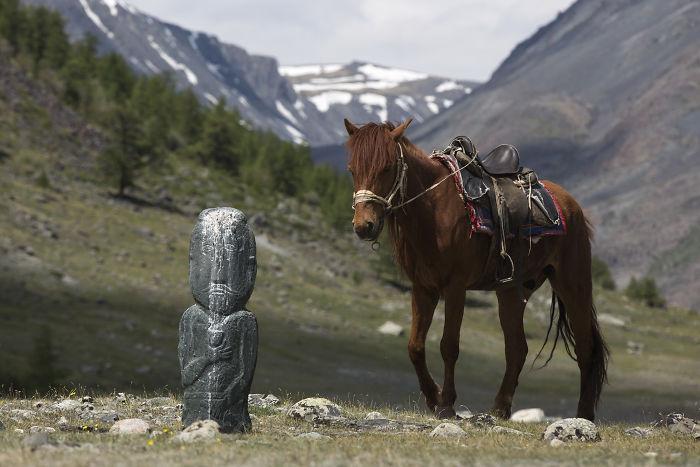 I Traveled To Mongolian Altai Mountains