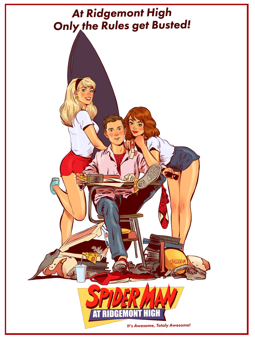 Spider-man At Ridgemont High