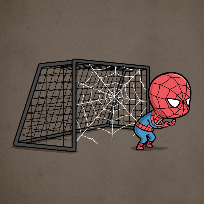 Sporty Spider Man - Soccer