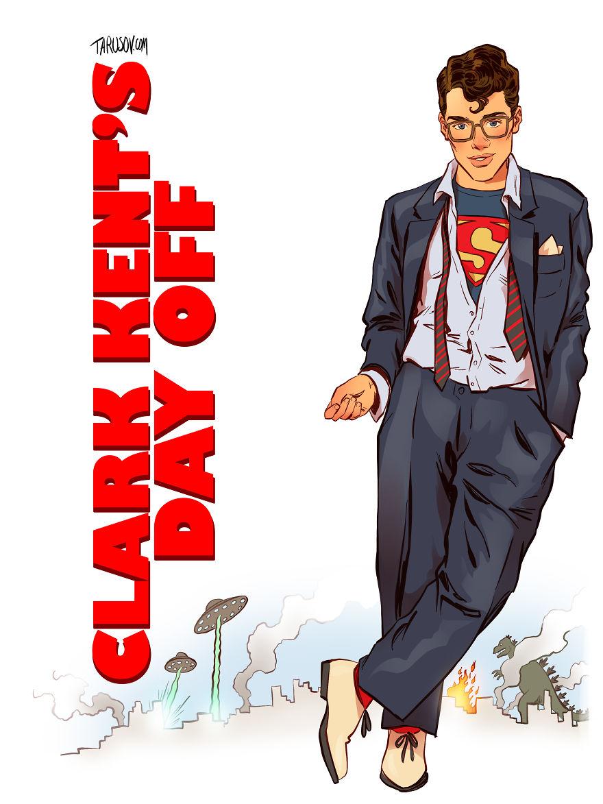Clark Kent's Day Off