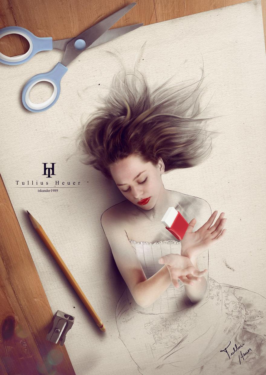 The Fantastic Art Of Tullius Heuer