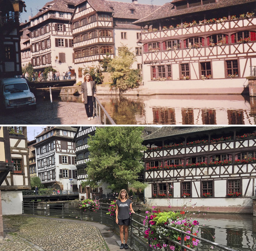 Thirty Years Later In Strasbourg, France