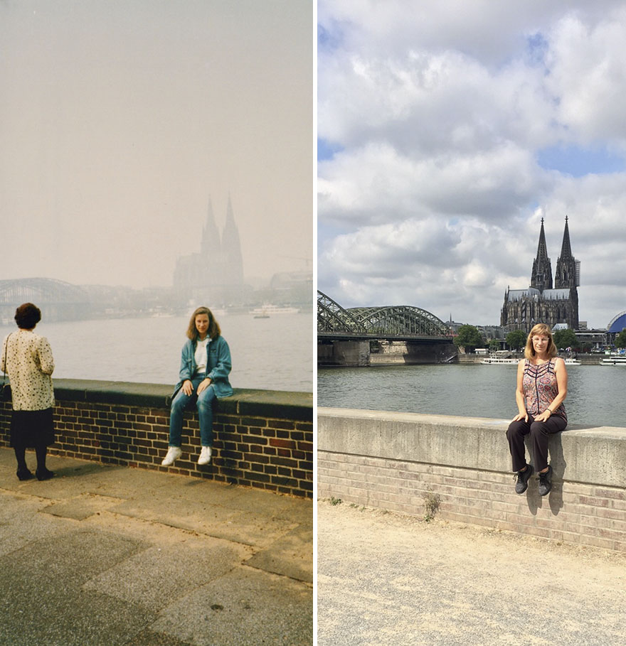 Thirty Years Later In Cologne, Germany