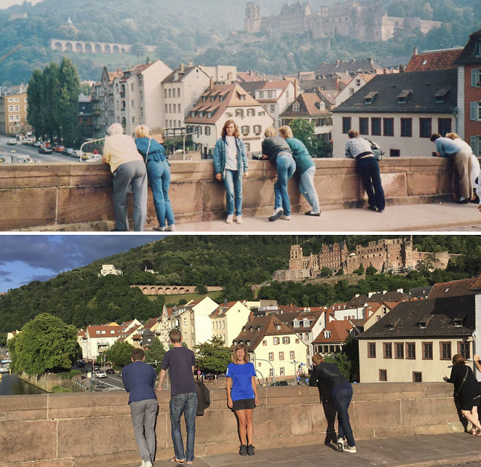 Thirty Years Later In Heidelberg, Germany