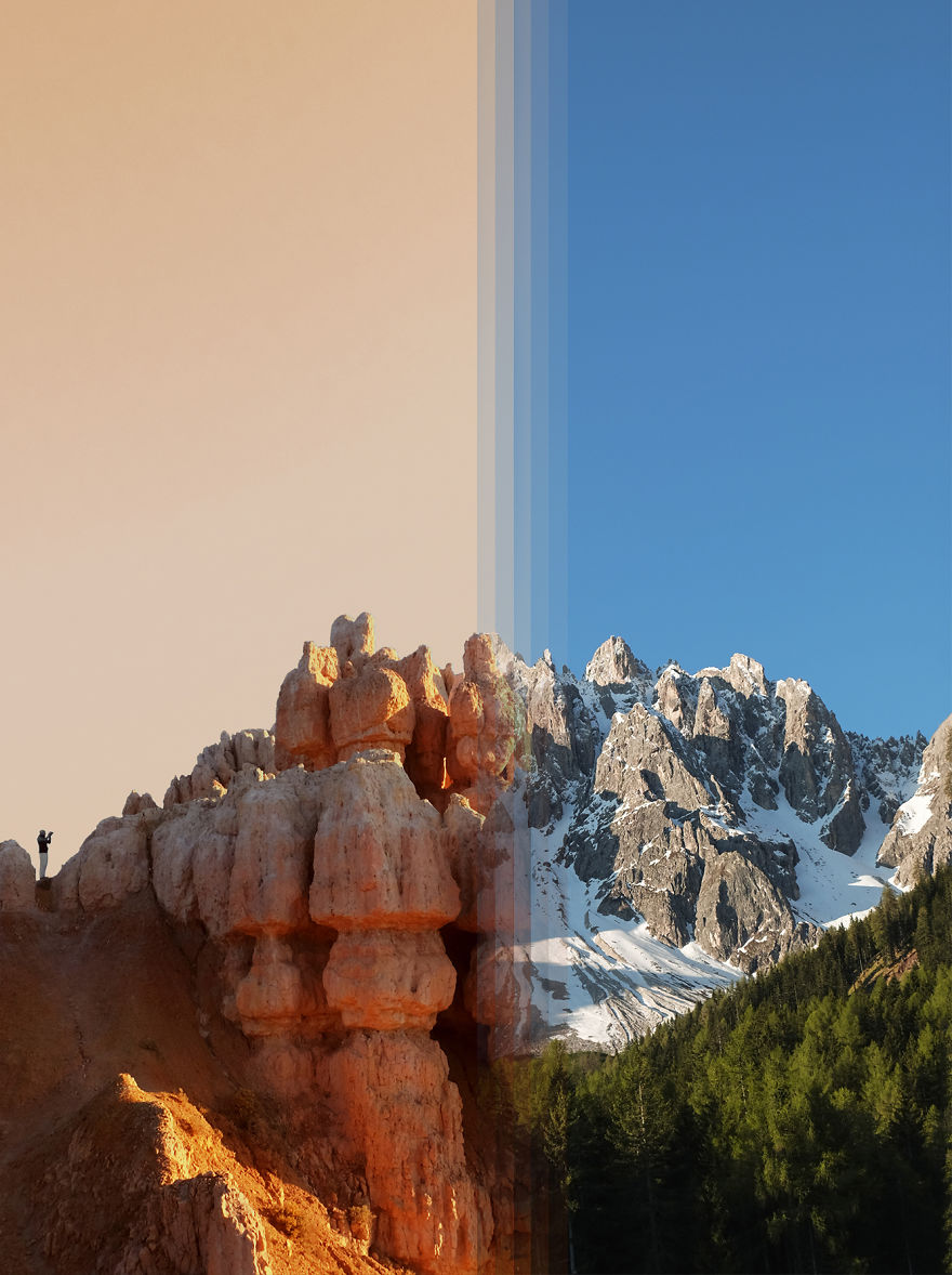 Bryce Canyon In Usa Vs The Dolomites In Italy
