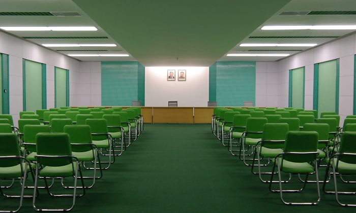 Conference Room In North Korea