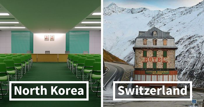 People Share Pics Of Real Life Locations That Look Like Theyre
