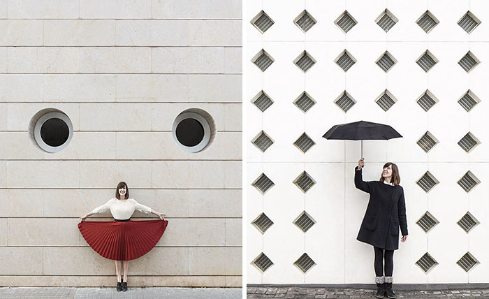 Adorable Duo Travels The World To Play With Architecture, And Their Pics Will Give You An Eyegasm