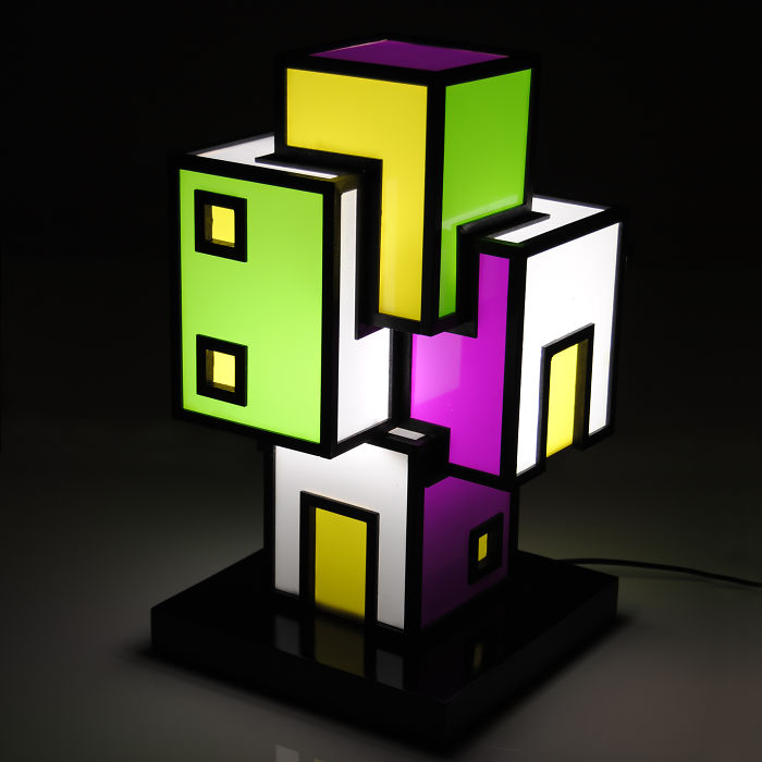 Agglomerati: I Create Sculpture Lamps In Wood And Plexiglass