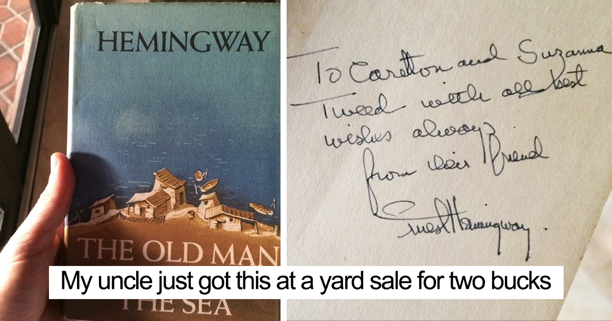 10+ People Who Found The Best Things In Thrift Stores, Flea Markets And Garage Sales