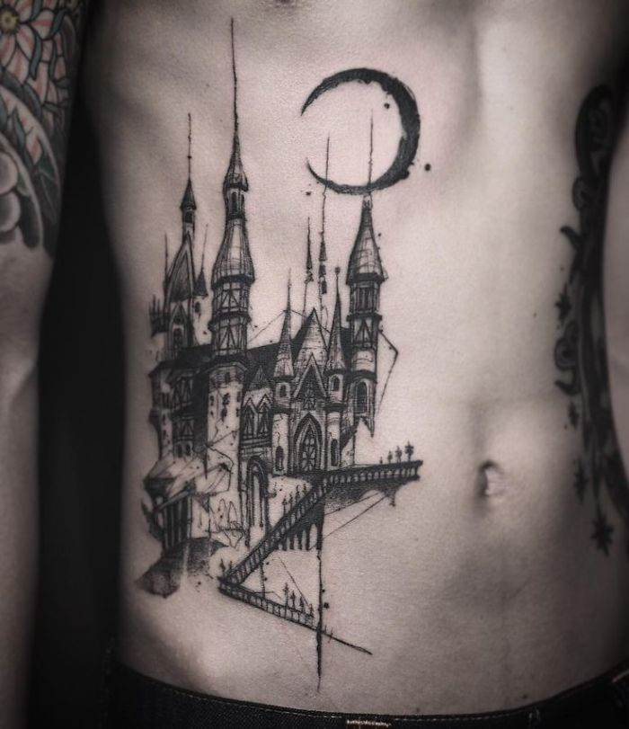 10 Architecture Tattoos Thatll Make You Want To Get Inked