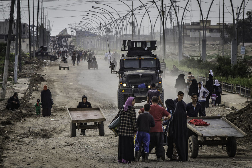 """""""Because No One Would Buy My Photos, Here They Are For Free. Mosul 2017"""""""