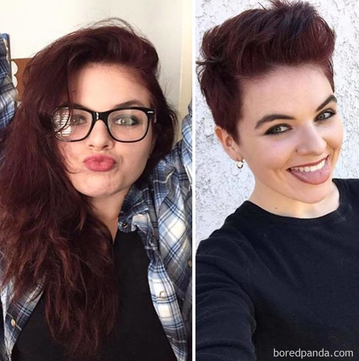 10 Extreme Haircut Transformations That Will Inspire You To Get A