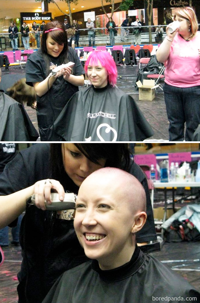 Head Shave For A Kids With Cancer Charity Event