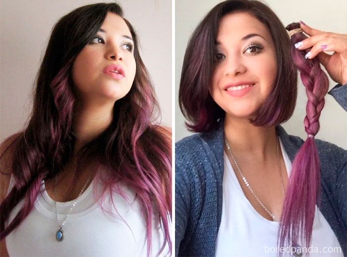 From Magical Unicorn Damaged Hair, To Healthy Short Hair