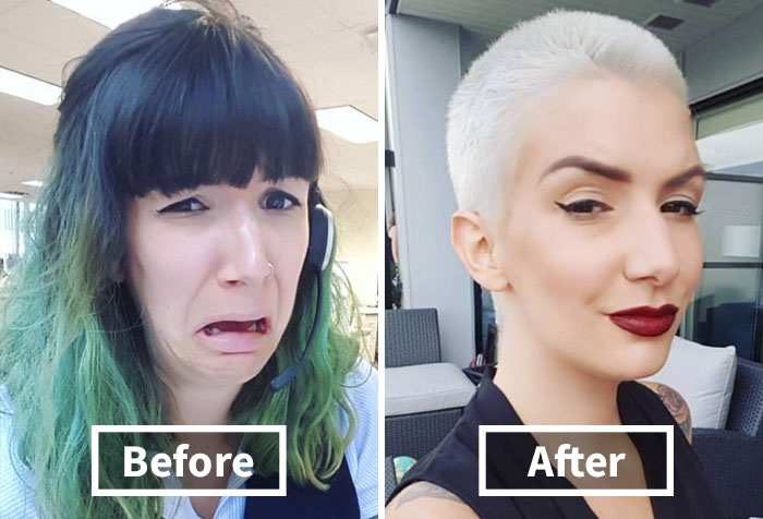 318 Extreme Haircut Transformations That Will Inspire You To Get A New Haircut