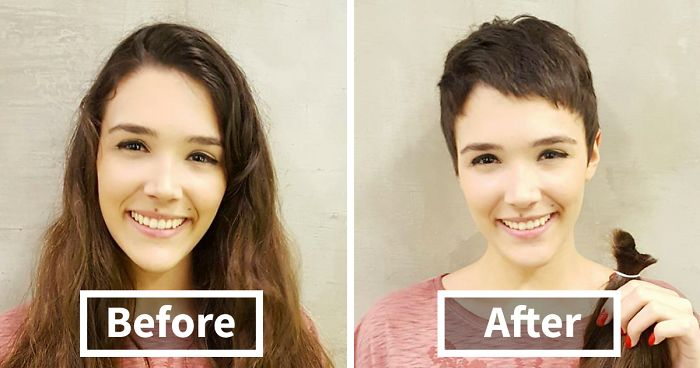3ca68660c1882 Share Before   After Pics Of Your Extreme Haircut Transformations ...
