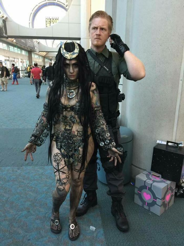 Enchantress And Rick Flag, Suicide Squad