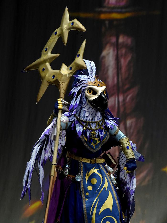 Dawnseeker Ix'kin, Arakkoa Sun-sage, World Of Warcraft