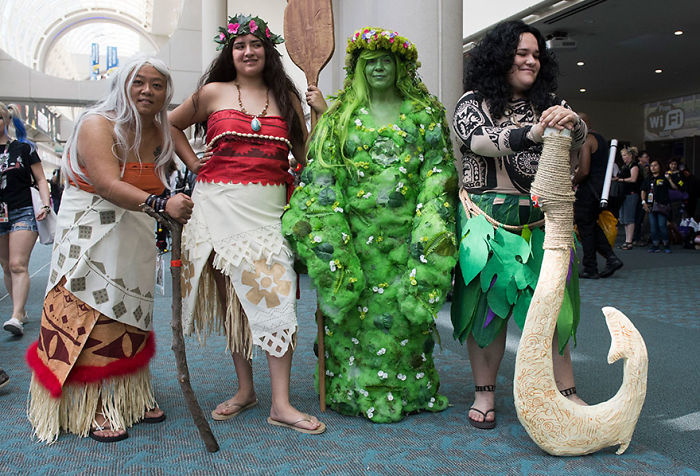 Characters From Moana