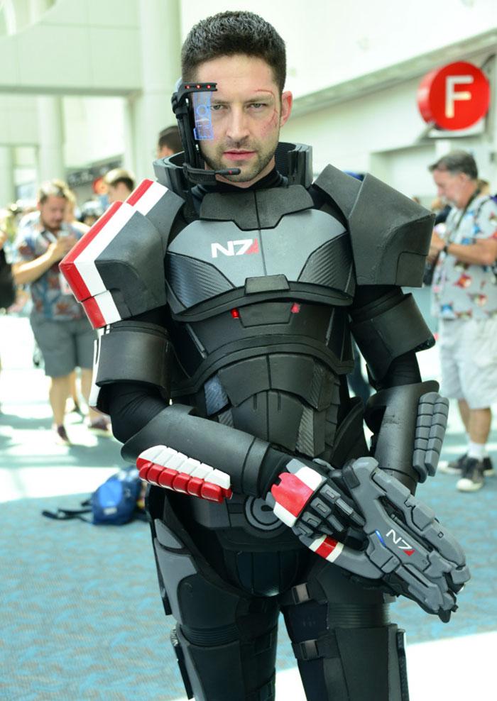 Commander Shepard, Mass Effect
