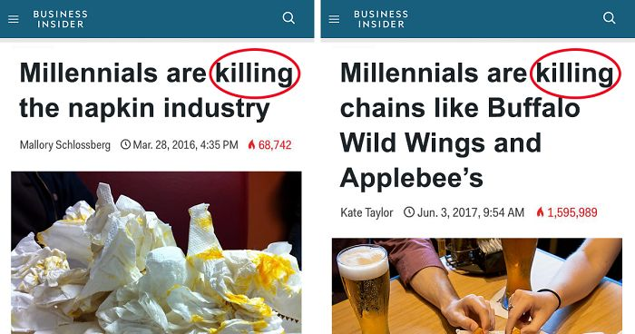 Taking Care Of Business By Killing Off >> Someone Rounded Up All The Industries Millennials Are Killing And