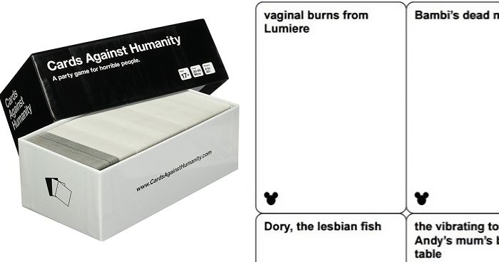 photograph relating to Cards Against Humanity Printable Expansions referred to as Disney Playing cards Towards Humanity Might Be Coming Out Before long, And