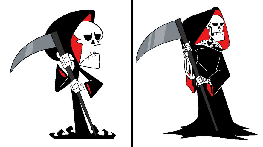 Grim From The Grim Adventures Of Billy & Mandy