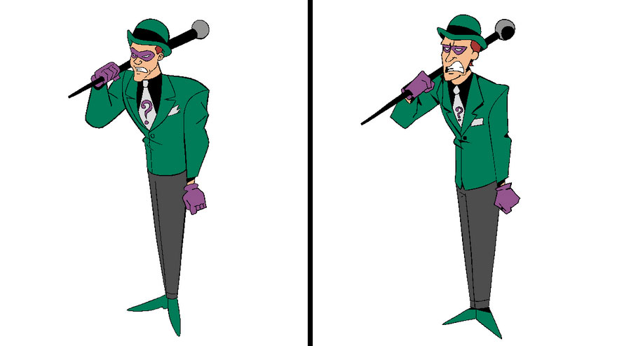 Riddler From Batman: The Animated Series
